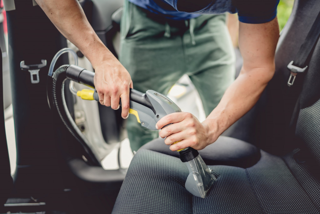 car interior maintenance